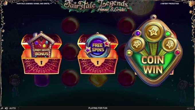 Fairytale legends bonus
