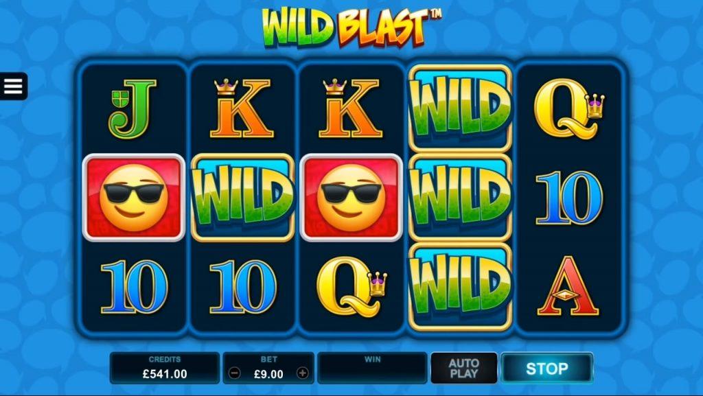 EmotiCoins Wild Blast Feature