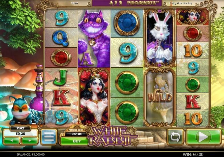 Ny slot white rabbit