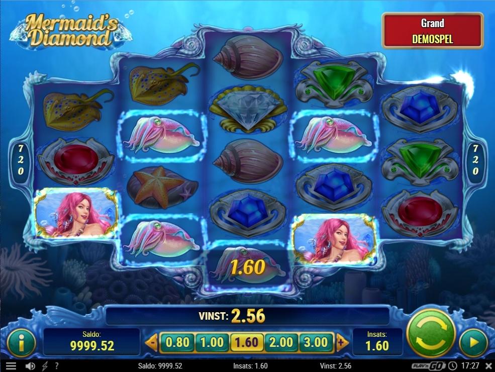 mermaid's diamond random trigger