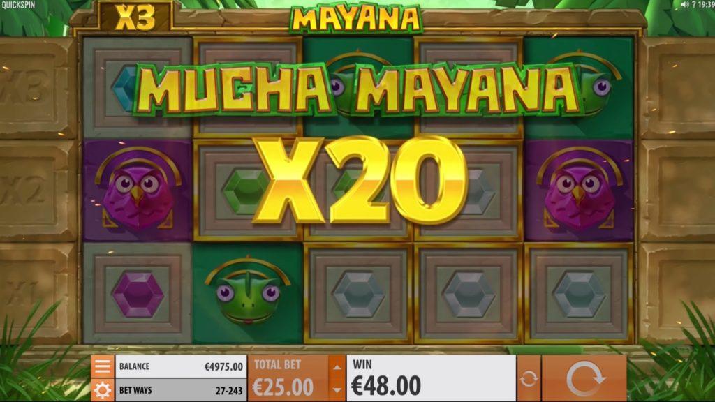 Mucha Mayan multiplier