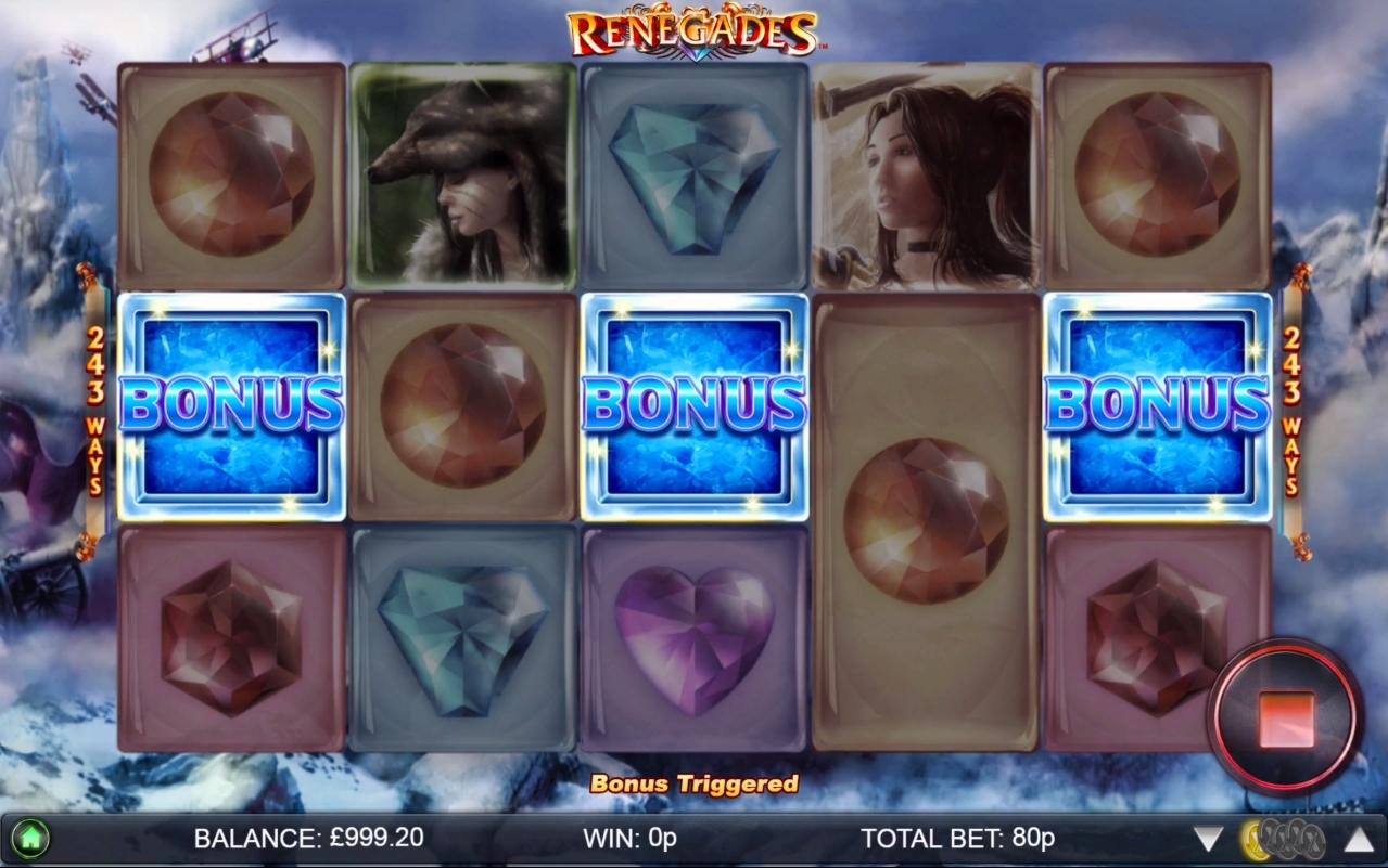 renegades free spins