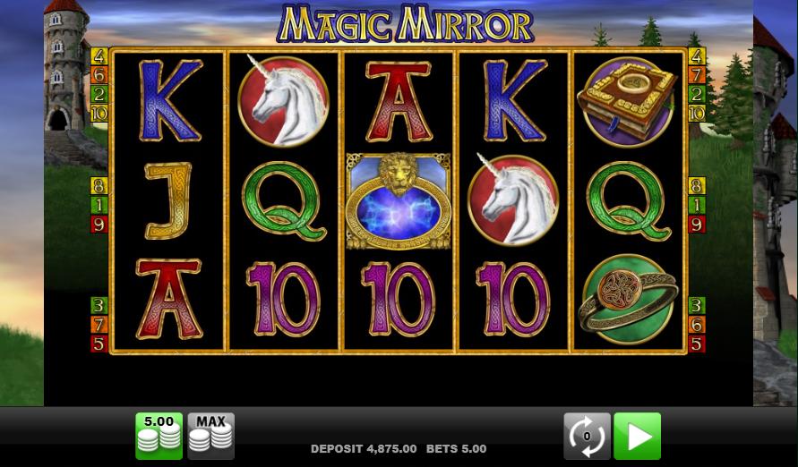 magic mirror symboler