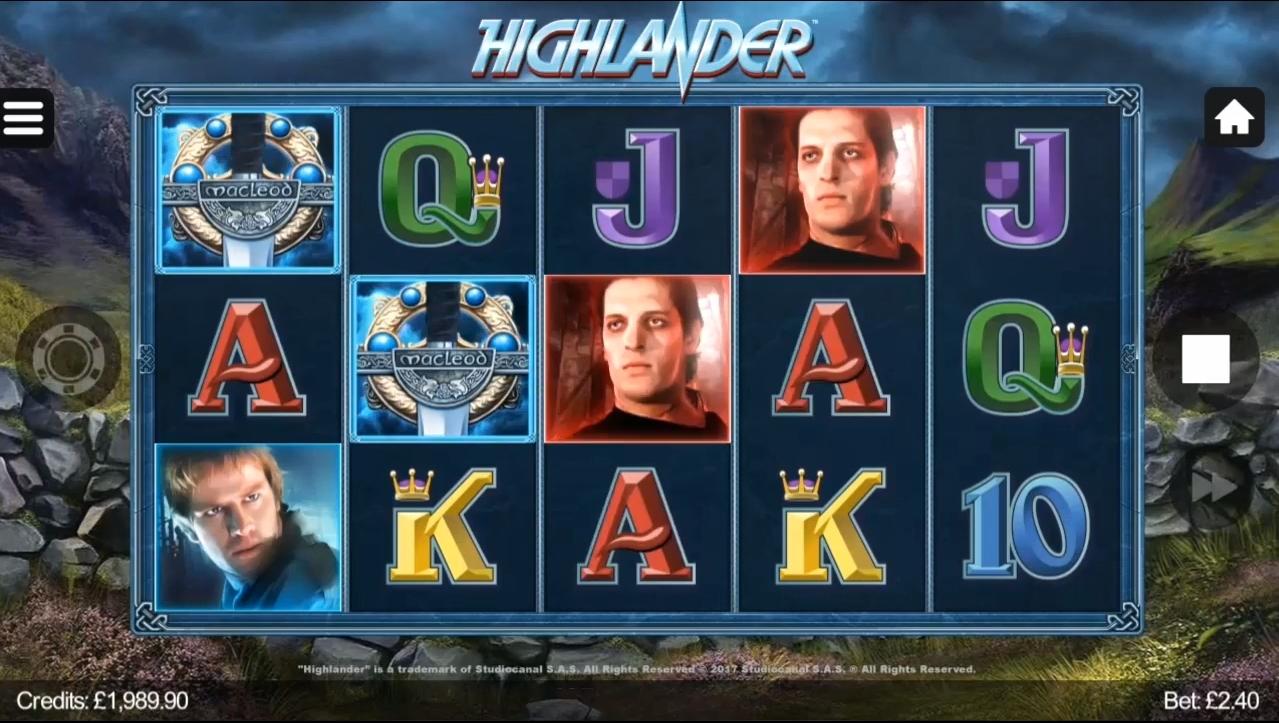 highlander symboler