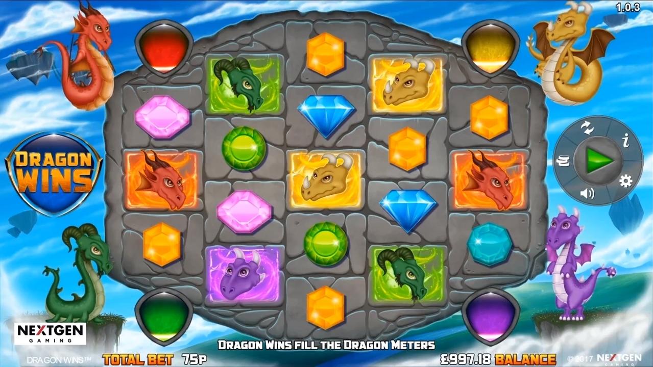 dragon wins symboler