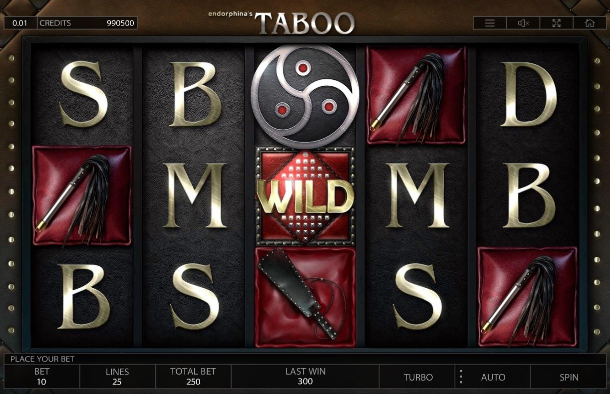 Taboo symboler