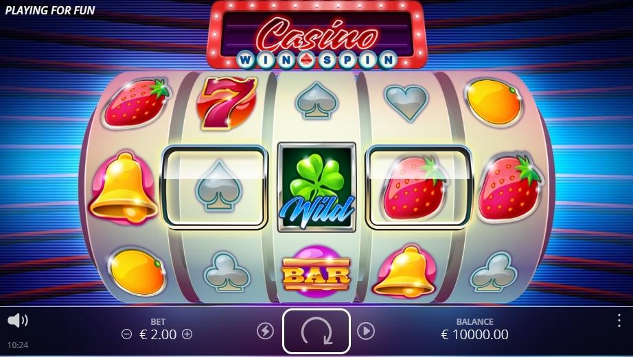 casino win spin symboler