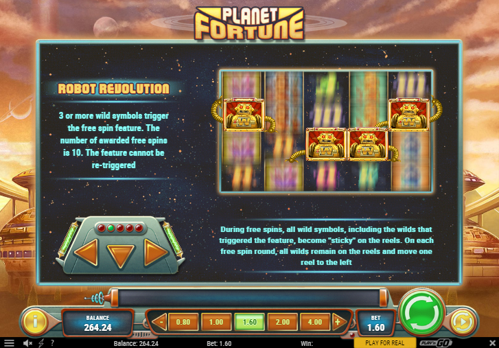planet fortune freespins