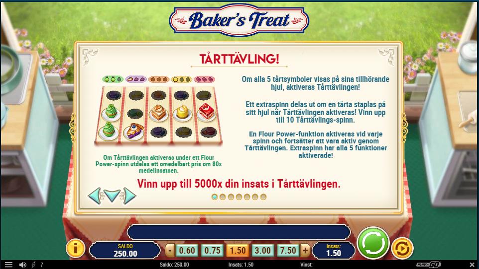 Bakers treat bonus