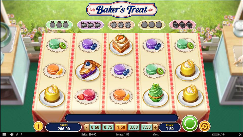 bakers treat symboler