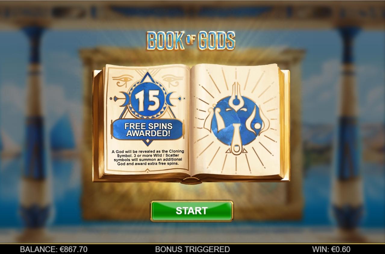book of gods bonus