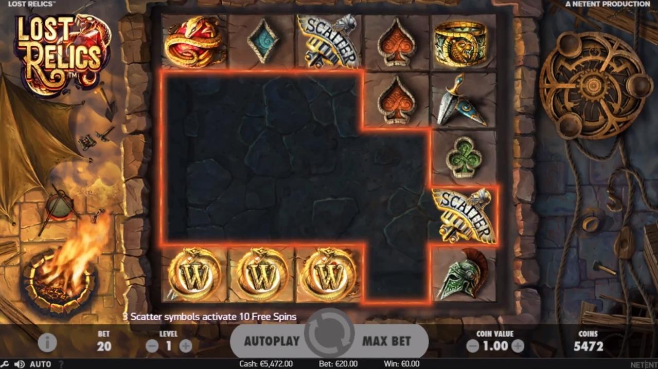 lost relics bonus
