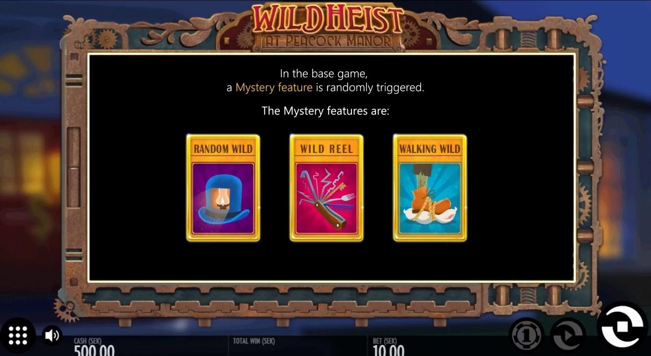 wild helst mystery triggers
