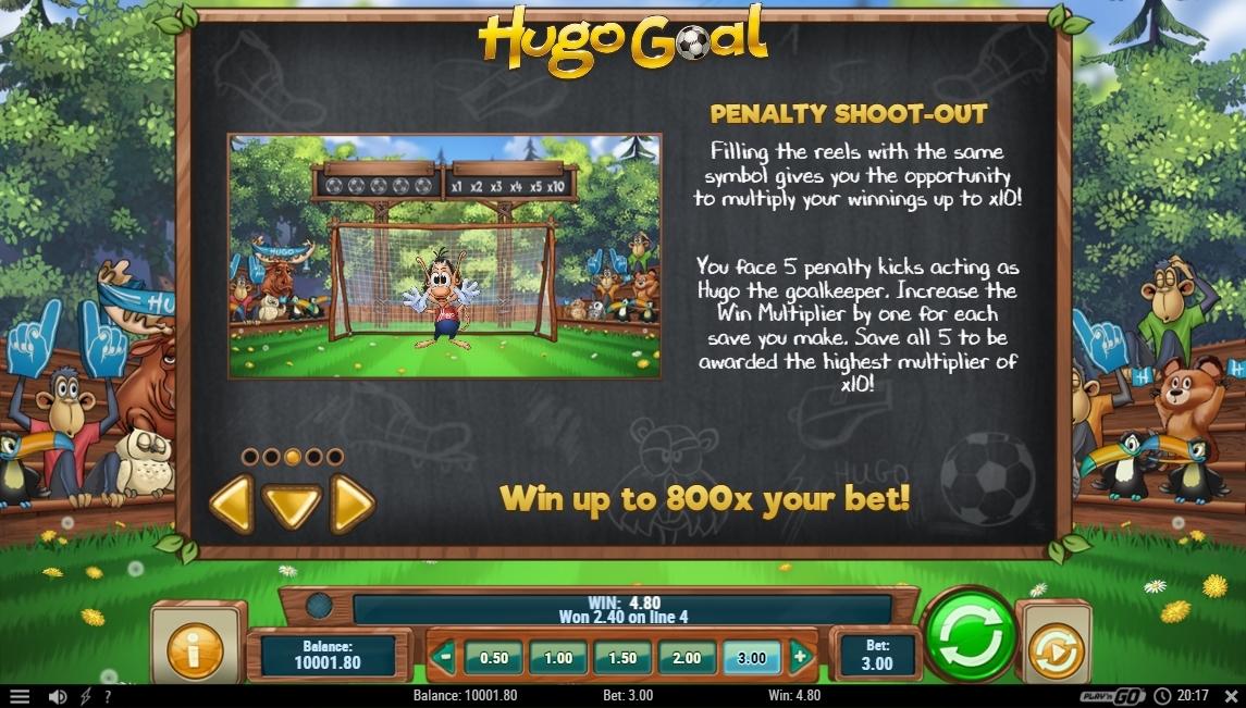 hugo goal feature
