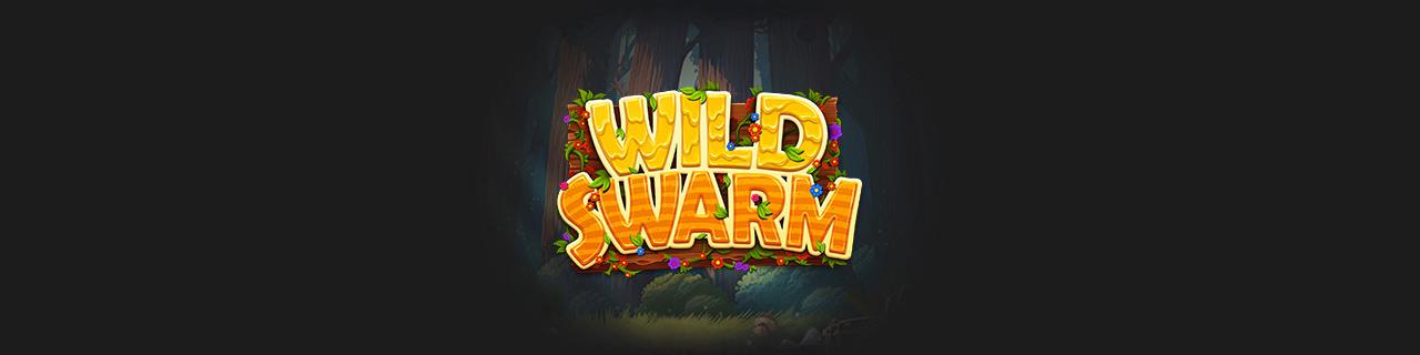 wild swarm slot banner