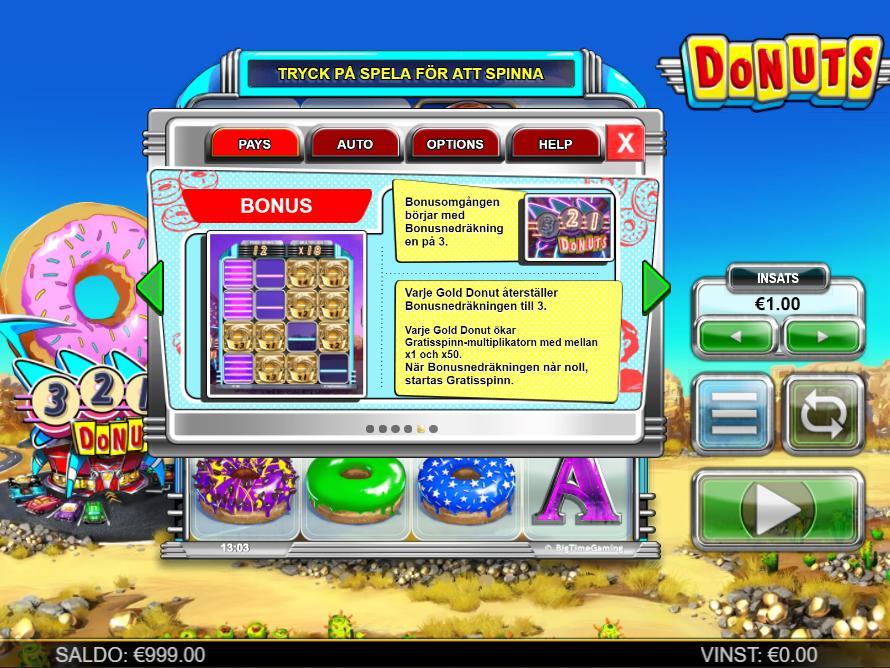 donuts bonus