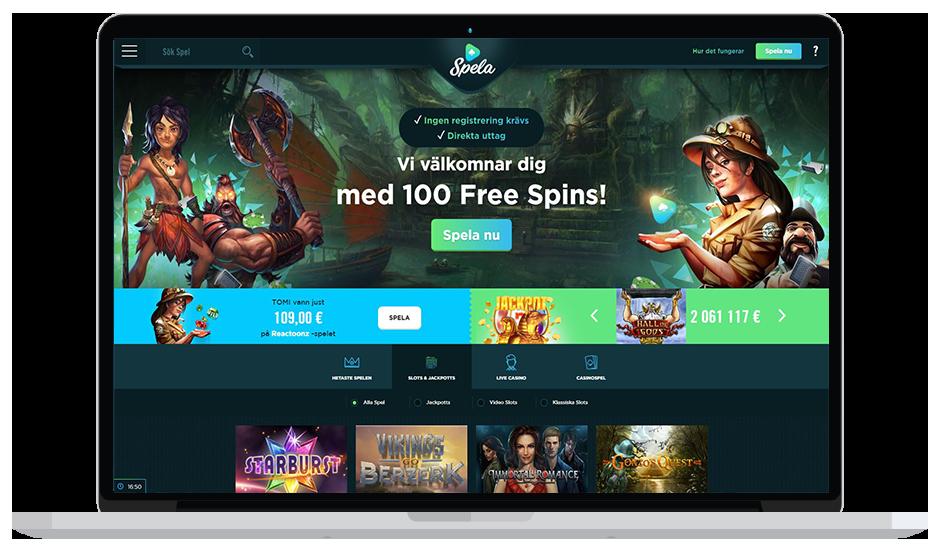 spela.com casino bonus