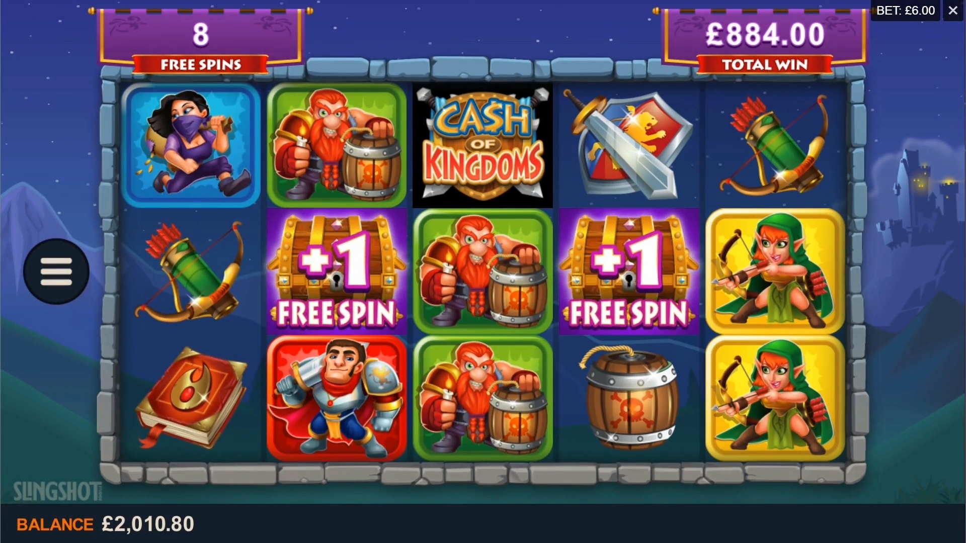 cash of kingdom bonus