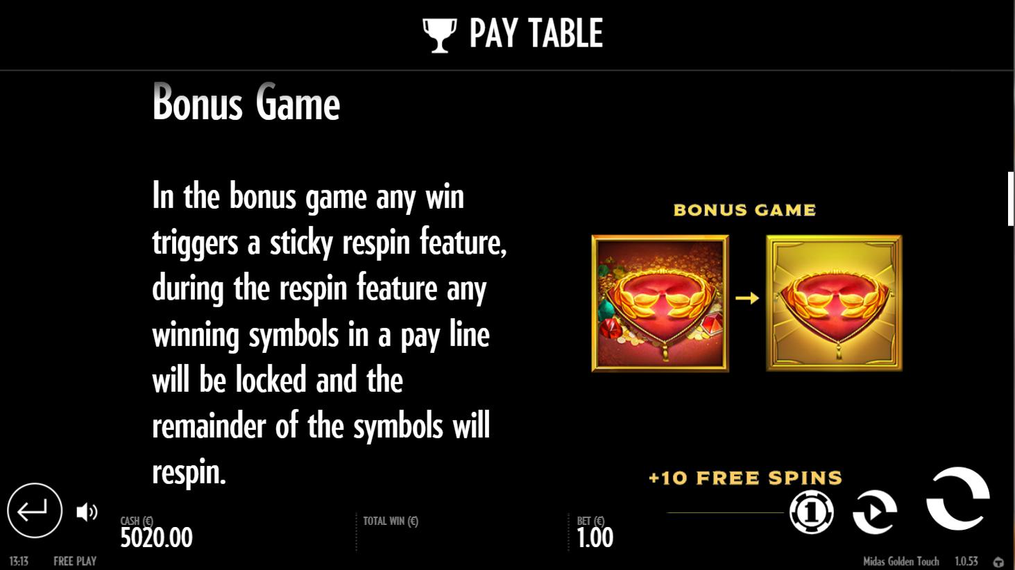 midas-bonus